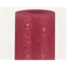 Rotolo in tulle floccato glitterato CHERRY CRNSTUCHR
