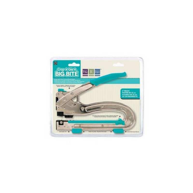 Pinza per la foratura o crea occhielli - CROP-A-DILE II Big Bite - We R Memory Keepers - 70911-4