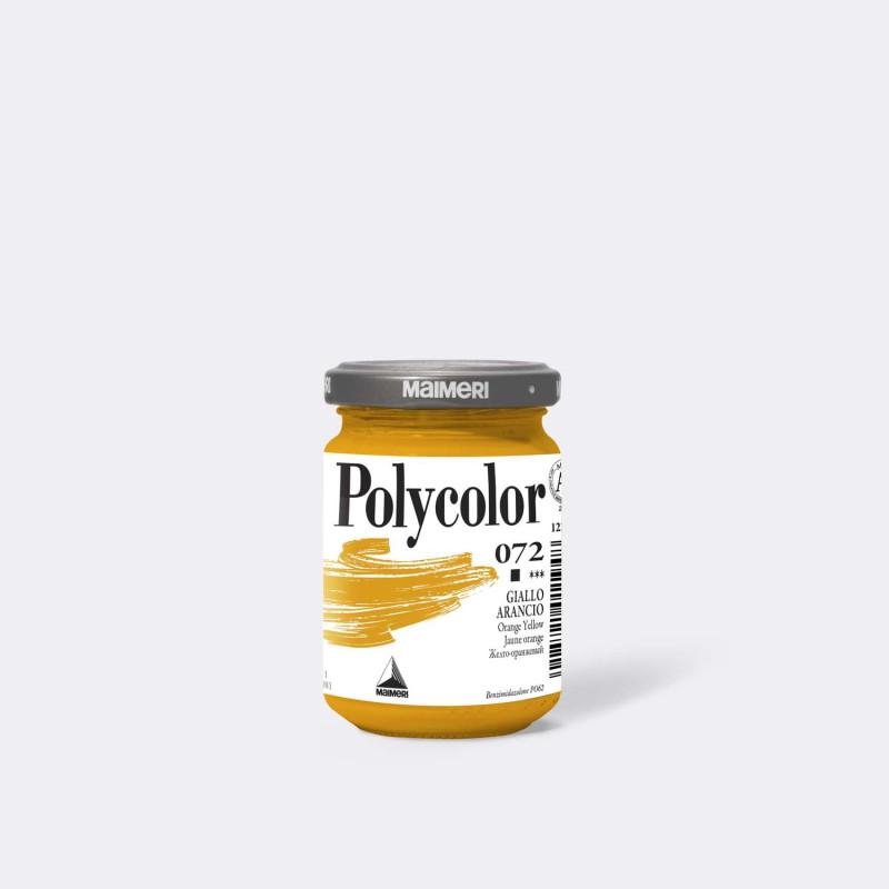 Maimeri Polycolor 072 Giallo Arancio 140 ml.