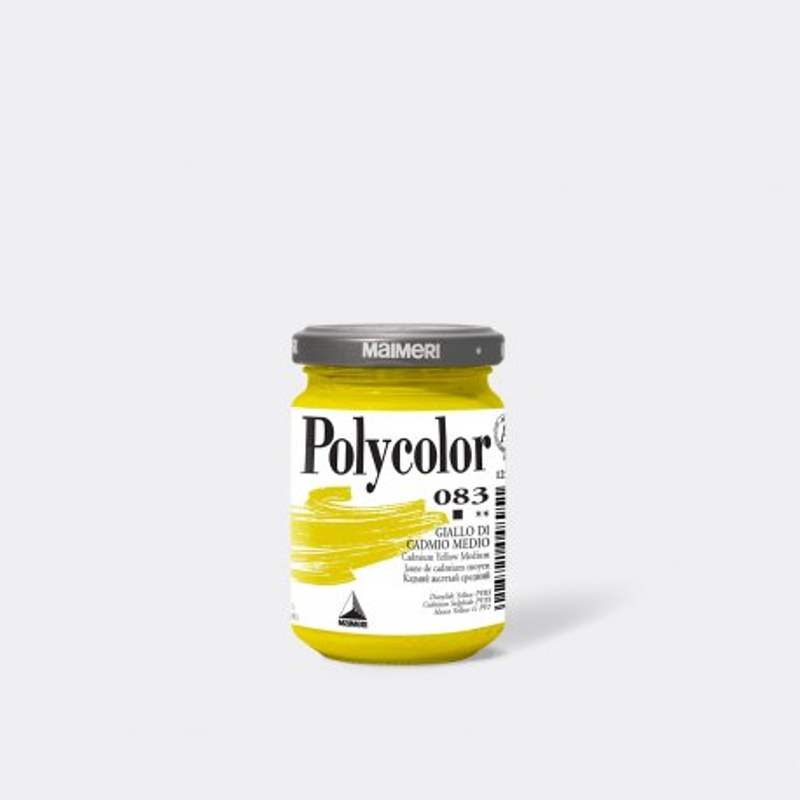 Maimeri Polycolor 074 Giallo Brillante 140 ml.