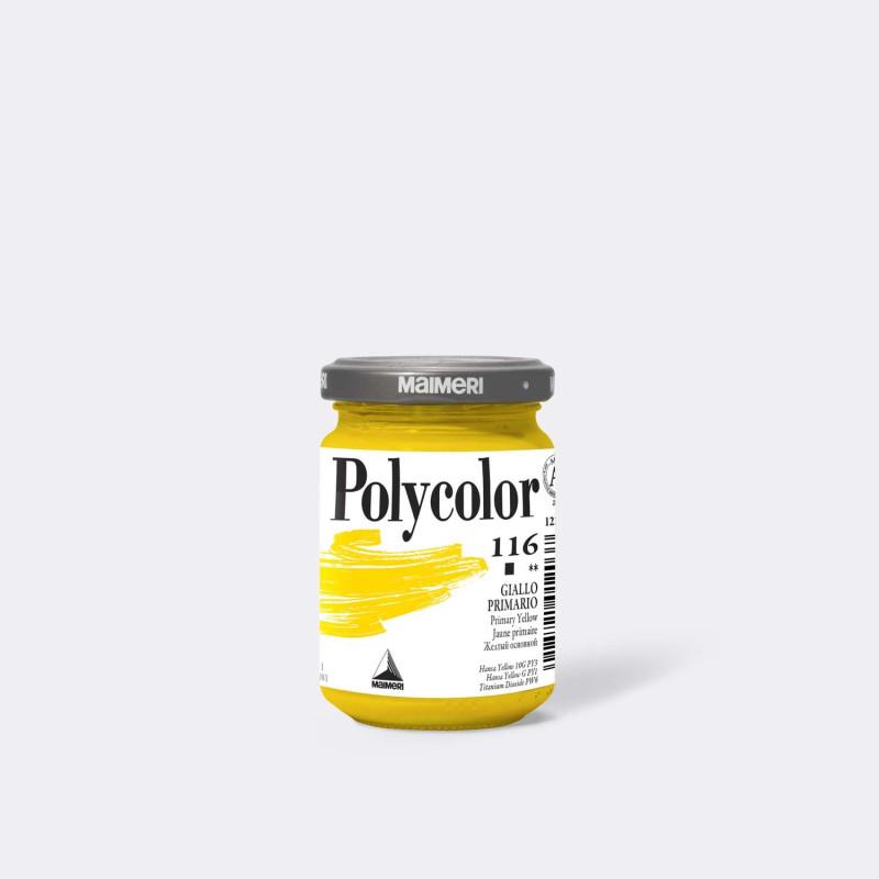 Maimeri Polycolor 116 Giallo primario 140 ml.