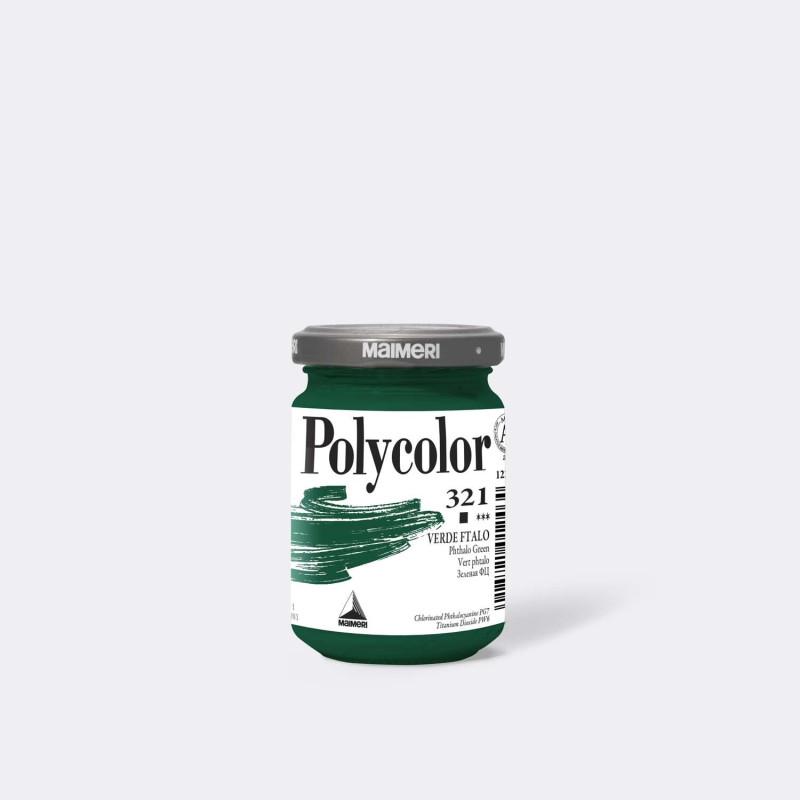 Maimeri Polycolor 321 Verde ftalo 140 ml.