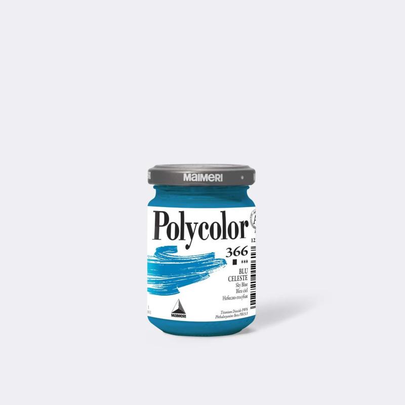 Maimeri Polycolor 366 Blu celeste 140 ml.