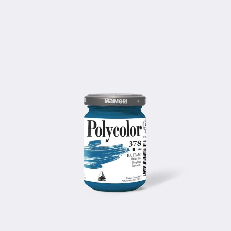 Maimeri Polycolor 378 Blu ftalo 140 ml.