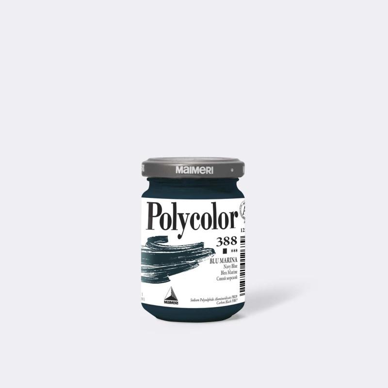 Maimeri Polycolor 388 Blu Marina 140 ml.