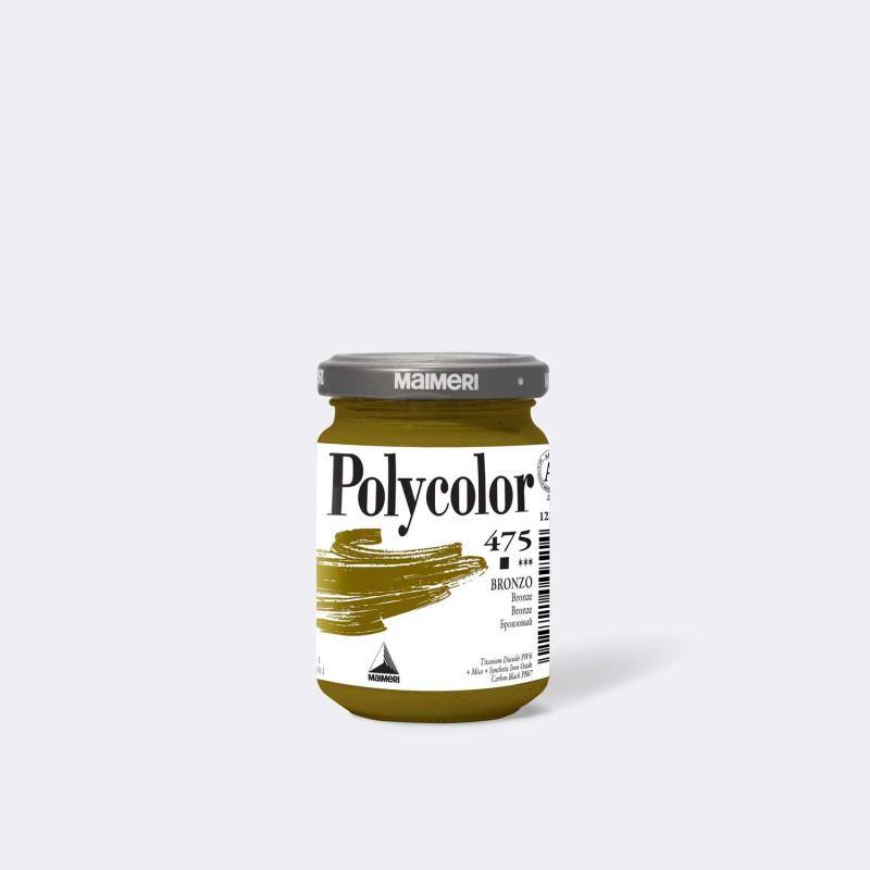 Maimeri Polycolor 475 Bronzo 140 ml.