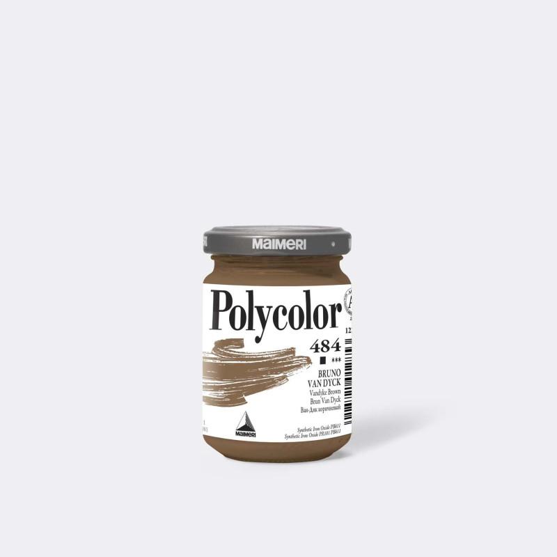 Maimeri Polycolor 484 Bruno Van Dyck 140 ml.