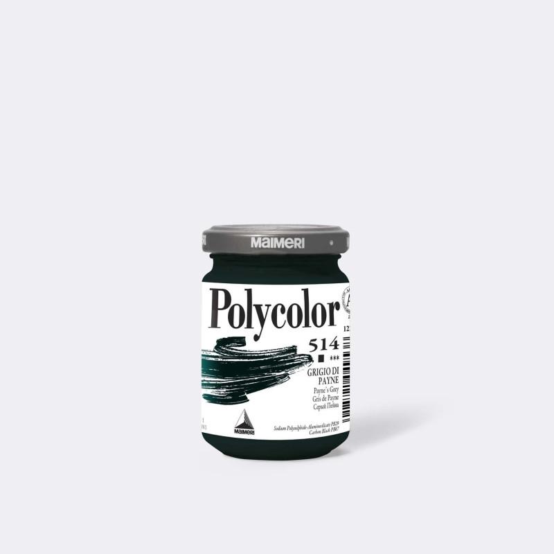 Maimeri Polycolor 514 Grigio di Payne 140 ml.