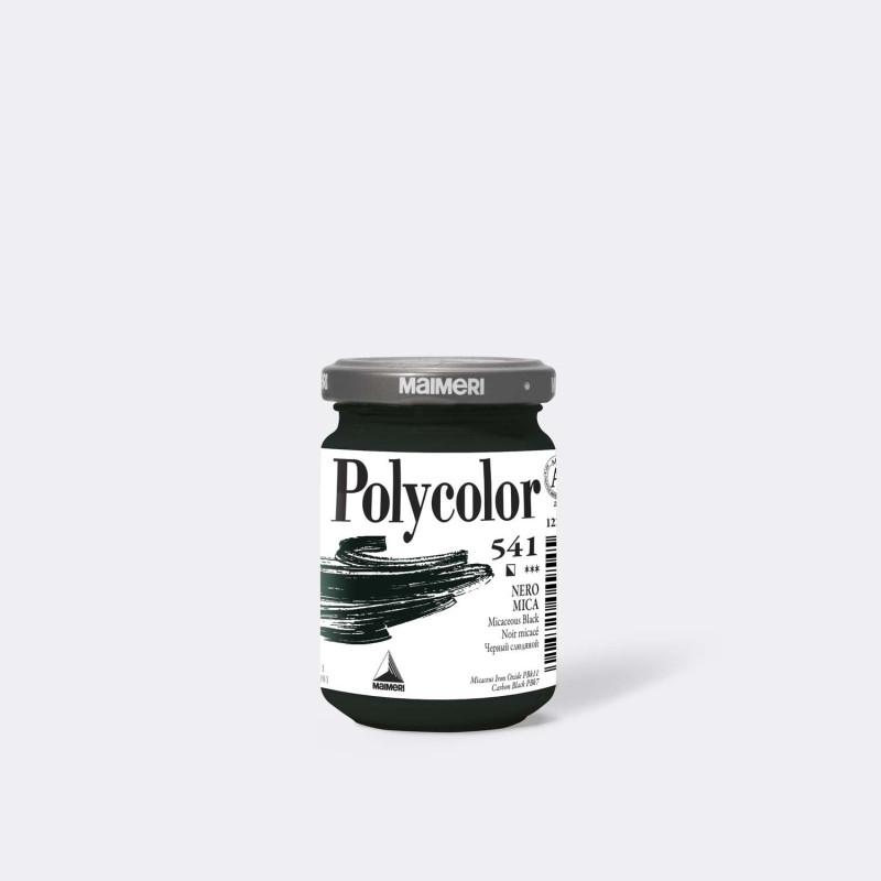 Maimeri Polycolor 541 Nero mica 140 ml.