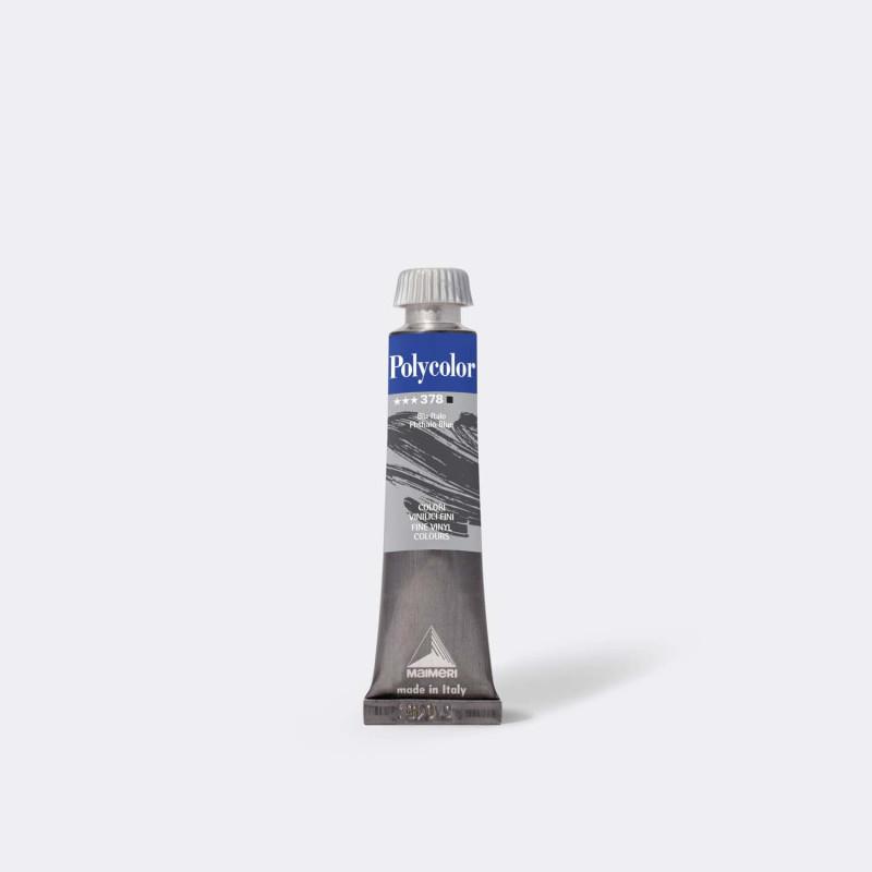 Maimeri Polycolor 378 Blu ftalo 20 ml