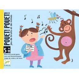 Gioco Djeco Carte Pouet! Pouet! DJ05152
