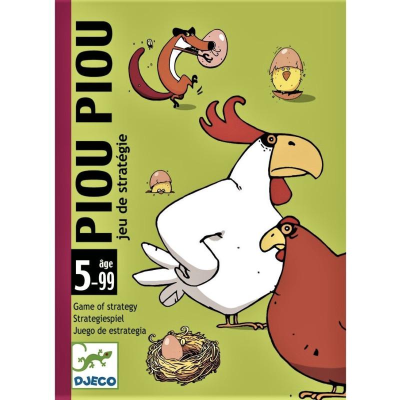 Gioco Djeco Carte Piou Piou DJ05119