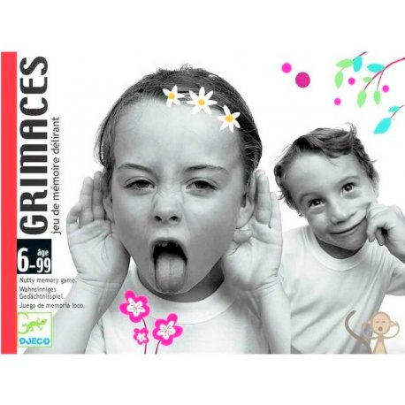 Gioco Djeco Carte Grimaces DJ05169
