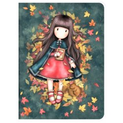 Quaderno Notebook A4 Gorjuss 1033GJ01 Autumn Leaves