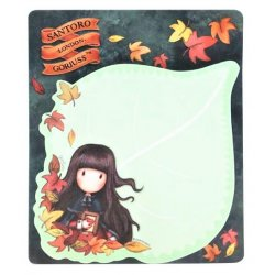 Foglietti adesivi Sticky Notes Gojuss 909GJ04 Autumn Leaves