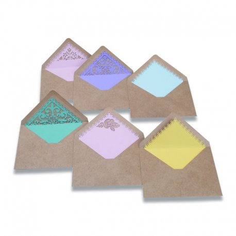 Fustella Sizzix Thinlits Die Set 14PK 663574 BIGLIETTO, PANDA Fold-a-Long
