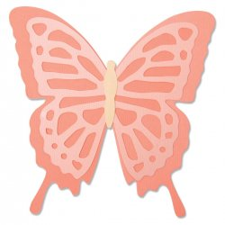 Sizzix Bigz Die - Layered Butterfly 664387