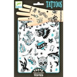 Gioco Djeco TATOUAGES DJ09594 Dark side