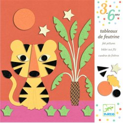 Gioco Djeco COLLAGES FEUTRINES DJ09864 Douce Nature