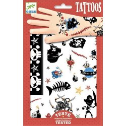 Gioco Djeco TATOUAGES DJ09584 Pirates