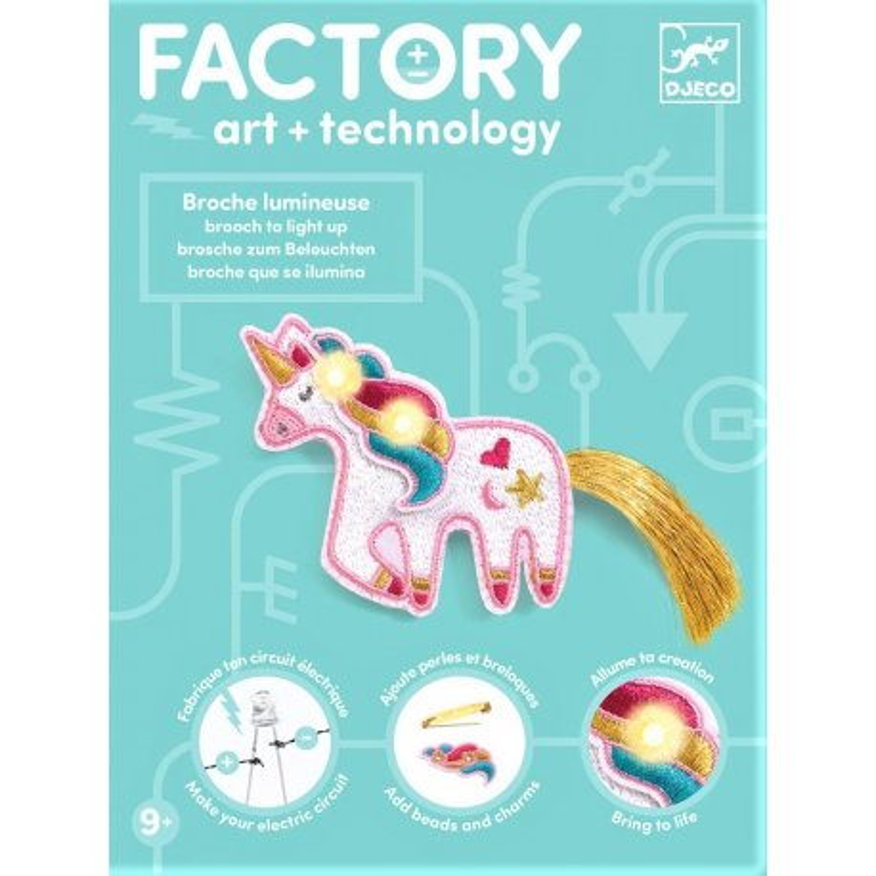Gioco Djeco FACTORY art+technology DJ09321 Sweet Licorne