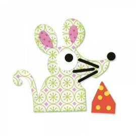 657693 Sizzix Bigz Die - Mouse & Cheese