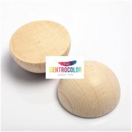 Set 10 Semisfere in legno...