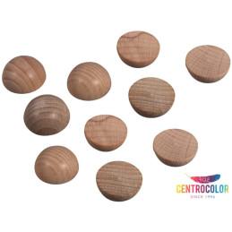 Set 40 Semisfere in legno...