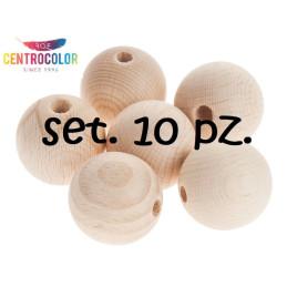 Set 10 palline sfere in...