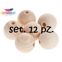 Set 12 palline sfere in...