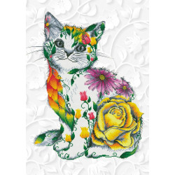 Diamond Dotz Flower Puss –...