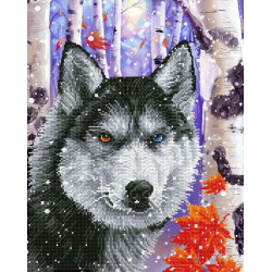 Diamond Dotz Forest Wolf –...