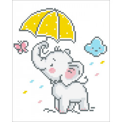 Diamond Dotz Baby Brollie –...