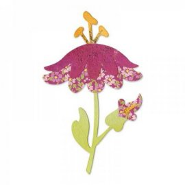 657712 Sizzix Bigz Die - Flower w/Leaves & Stem 4