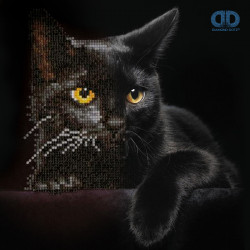 Diamond Dotz Midnight Cat –...