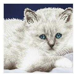 Diamond Dotz White Cat –...