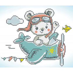Diamond Dotz Aero Bear -...