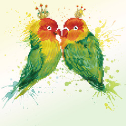 Diamond Dotz Love Birds –...