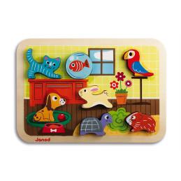 Janod Puzzle ANIMO (Legno)...