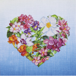 Diamond Dotz Flower Heart -...