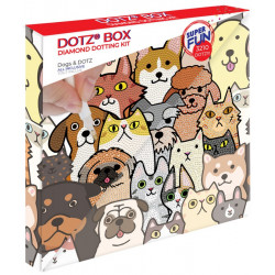 Diamond Dotz Box - Dogs &...