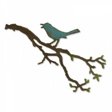 657833 Sizzix Bigz Die - Bird Branch