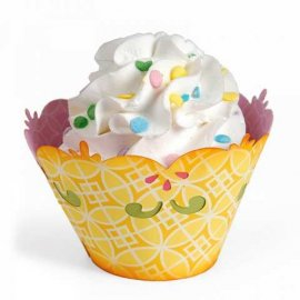 658008   Sizzix Bigz L Die - Cupcake Holder, Decorative