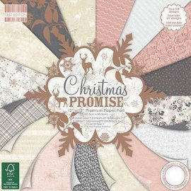 First Edition 12x12 FSC Paper Pad - Christmas Promise FEPAD125X16
