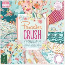 First Edition 12x12 FSC Paper Pad Paradise Crush FEPAD131