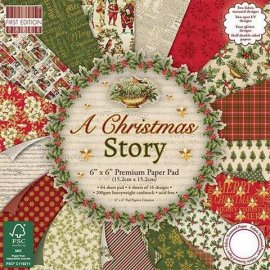 First Edition 6x6 FSC Paper Pad - A Christmas Story FEPAD130X16