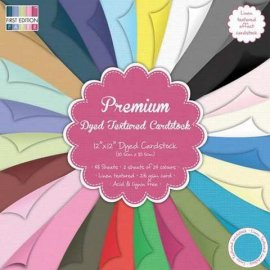 First Edition Premium Textured Cardstock – 12x12 Papers FEPAD062