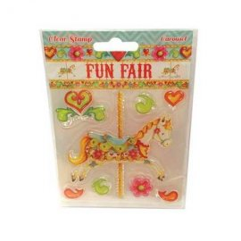Fun Fair by Helz Cuppleditch Clear Stamps - Carousel HCCS022