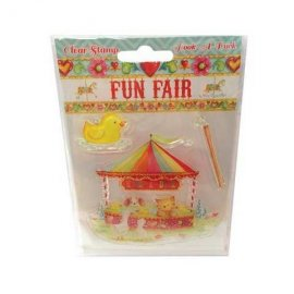 Fun Fair by Helz Cuppleditch Clear Stamps - Hook a Duck HCCS024