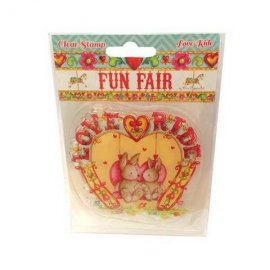 Fun Fair by Helz Cuppleditch Clear Stamps - Love Ride HCCS025